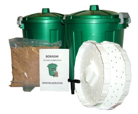 Double Bokashi Bucket