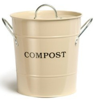 Clay Compost Bucket Caddy
