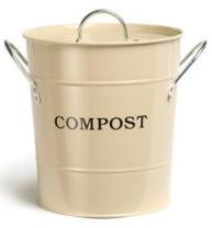 Clay Compost Bucket Caddy